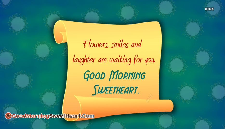 Sweetheart Good Morning Sweetheart Images