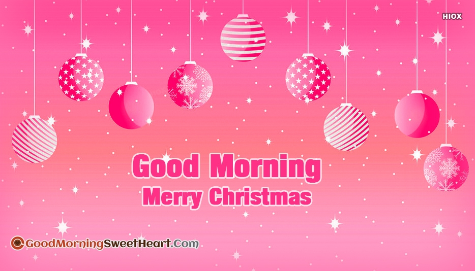 Good Morning Merry Christmas Quotes, Messages