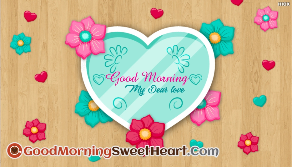 Good Morning Sweetheart Love Images