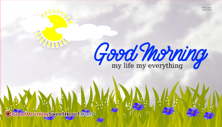 Good Morning My Everything I Love You Images