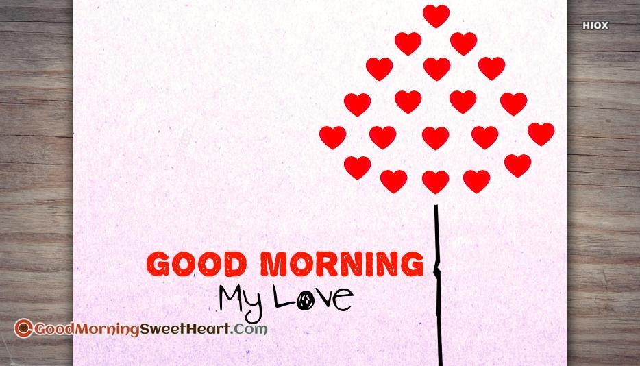 Good Morning My Love Pics