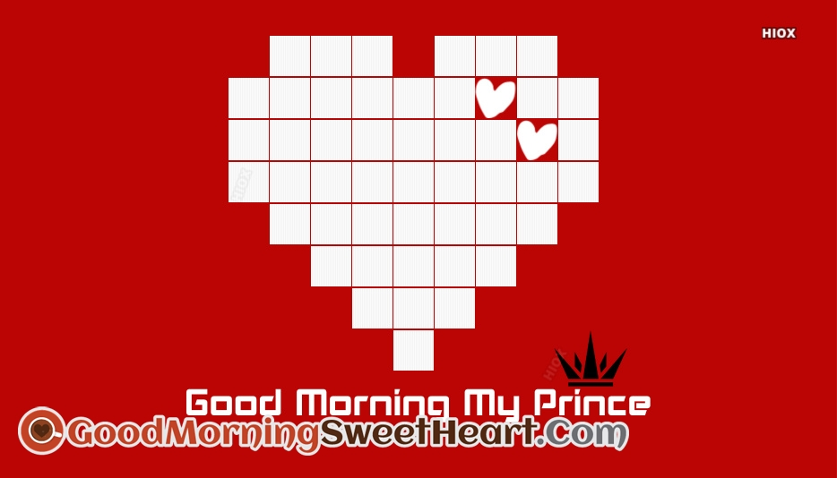 Good Morning Message for My Prince