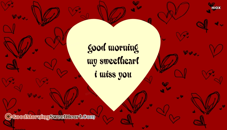 Good Morning I Miss You Images Pictures