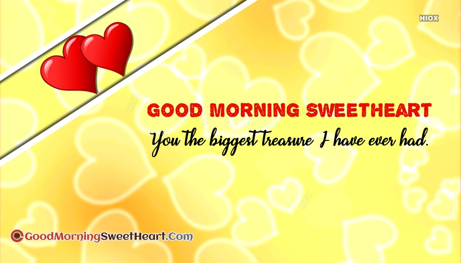 Good Morning Sweet Heart Quotes