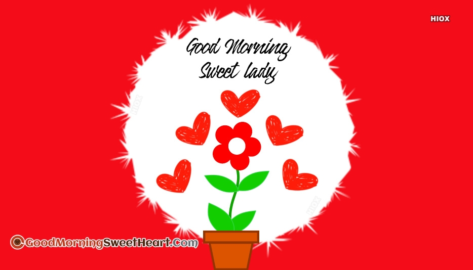 Good Morning Sweet Love Images
