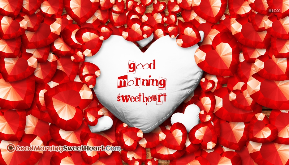 Good Morning Sweetheart Greetings