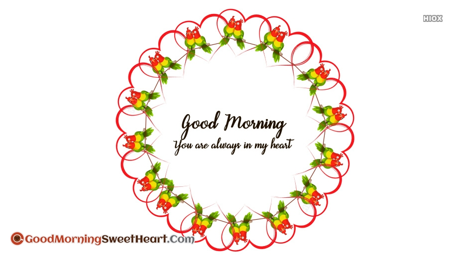 Heart Good Morning Sweetheart Images