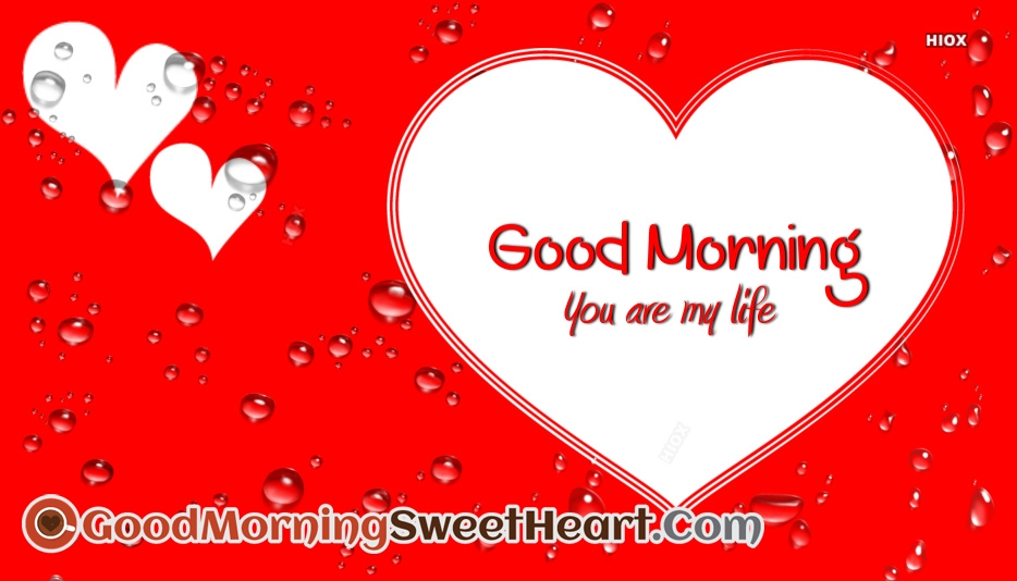 Good Morning You Are My Life