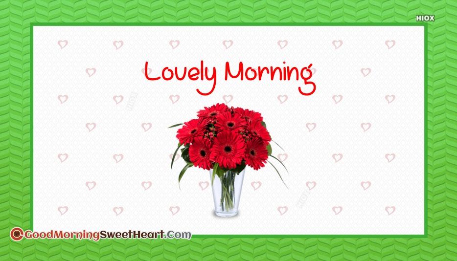 Lovely Morning Status