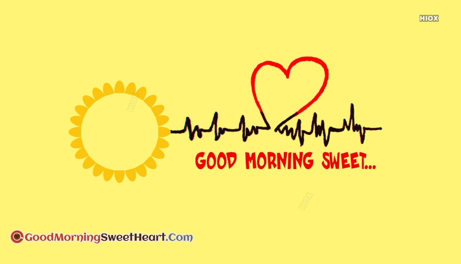 Good Morning My Heartbeat Images