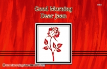 Good Morning Dear Jaan Image