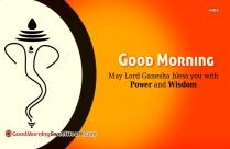 Good Morning Ganesha