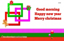 Happy New Year And Good Morning Messages