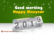 Good Morning Happy New Year 2019 Love