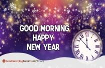 Good Morning Happy New Year Beautiful