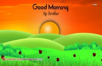 Good Morning My Brother