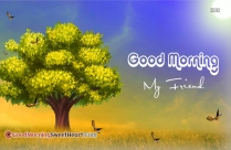 Good Morning My Friend Images