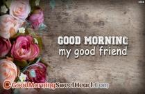 My Sweetheart Good Morning