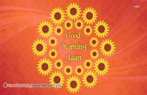 Good Morning My Jaan Status
