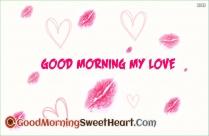 Good Morning My Love Kiss