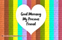 Good Morning My Gorgeous Friend