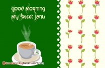 Sweet Good Morning Ji