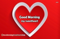 Good Morning My One And Only Love