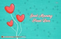 Good Morning Sweet Love Message