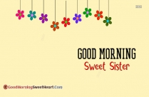 Good Morning My Sweet