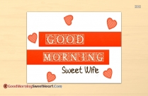 Good Morning Sweet Wife Image