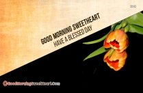 Gud Morning Sweet Heart Msg