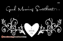 Good Morning Love You