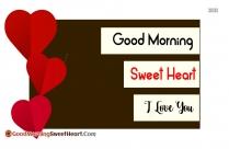 Good Morning Sweet Morning