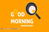 Good Morning Sweet Heart Hd Images