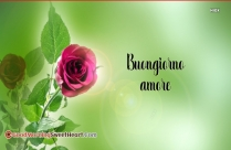 Good Morning Sweetheart Italian