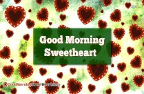 Good Morning Sweetheart Images Free Download