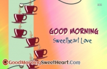 Good Morning Sweetheart With Love