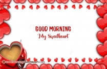 Good Morning Sweetheart Sms In English