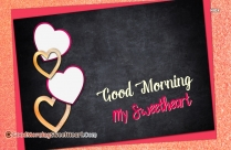 Good Morning To My Sweetheart Images