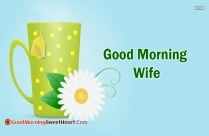 Good Morning Wife