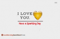 Good Morning My I Love You