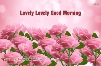 Good Morning Flowers My Love