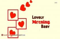 Morning Lovely Lady