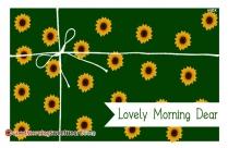Good Morning Beautiful Text