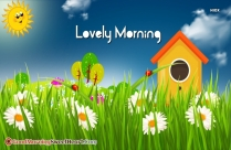 Lovely Morning Hd Image
