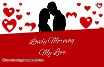 Lovely Morning Msg