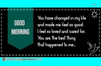 Sweetheart Good Morning Quotes