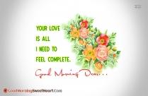 Lovely Morning My Dear