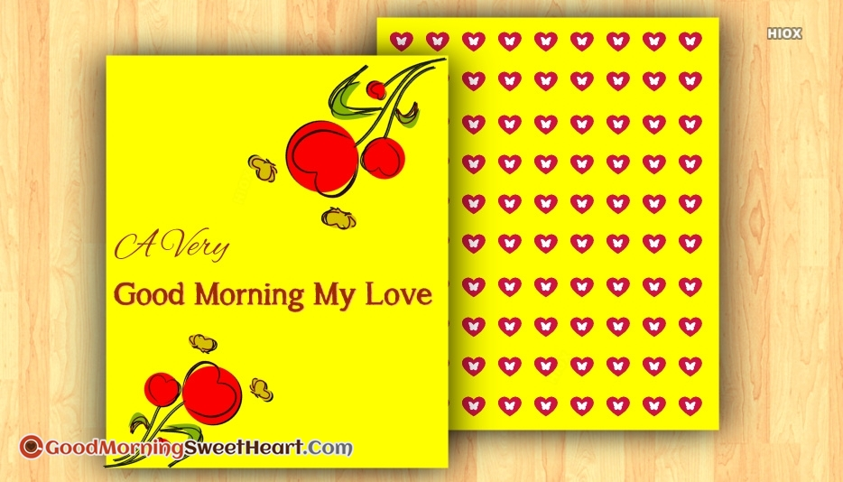 Good Morning Sweetheart Images for My Love