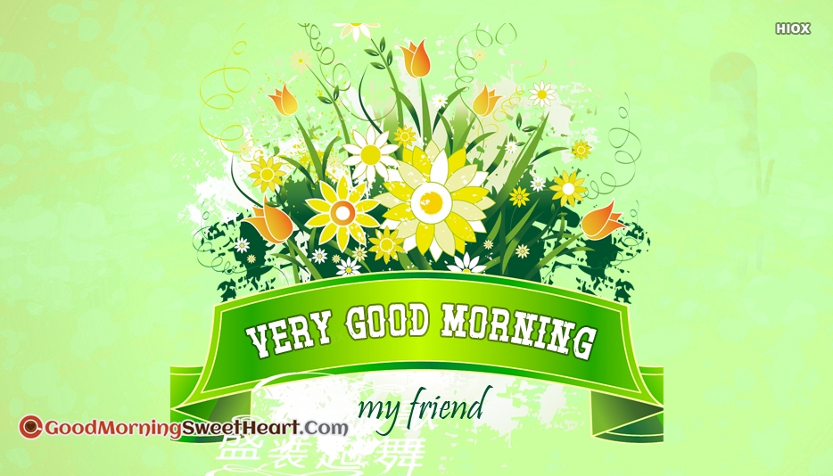 Friend Good Morning Sweetheart Images
